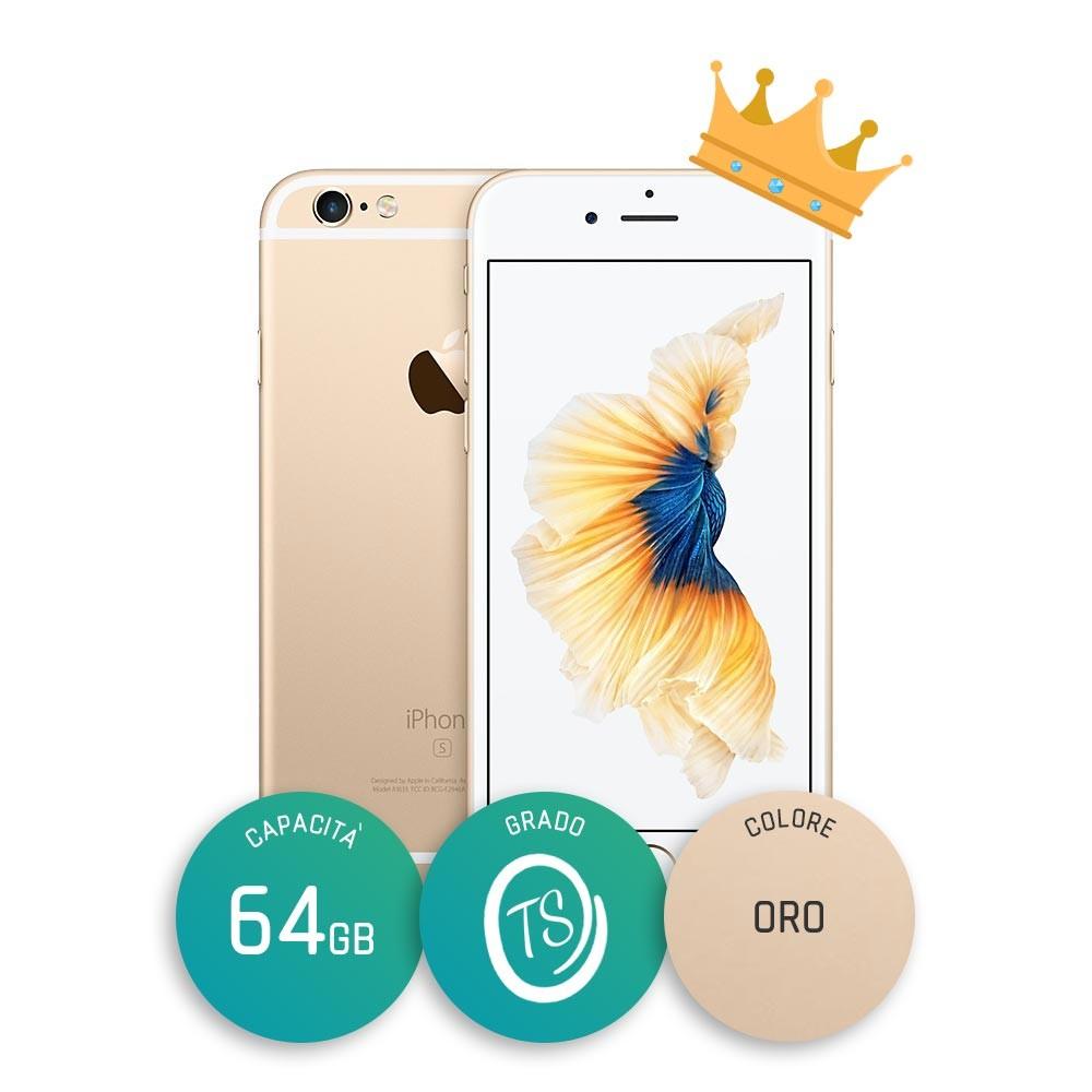 iPhone 6s Ricondizionato – 64GB – Grado TS – Oro