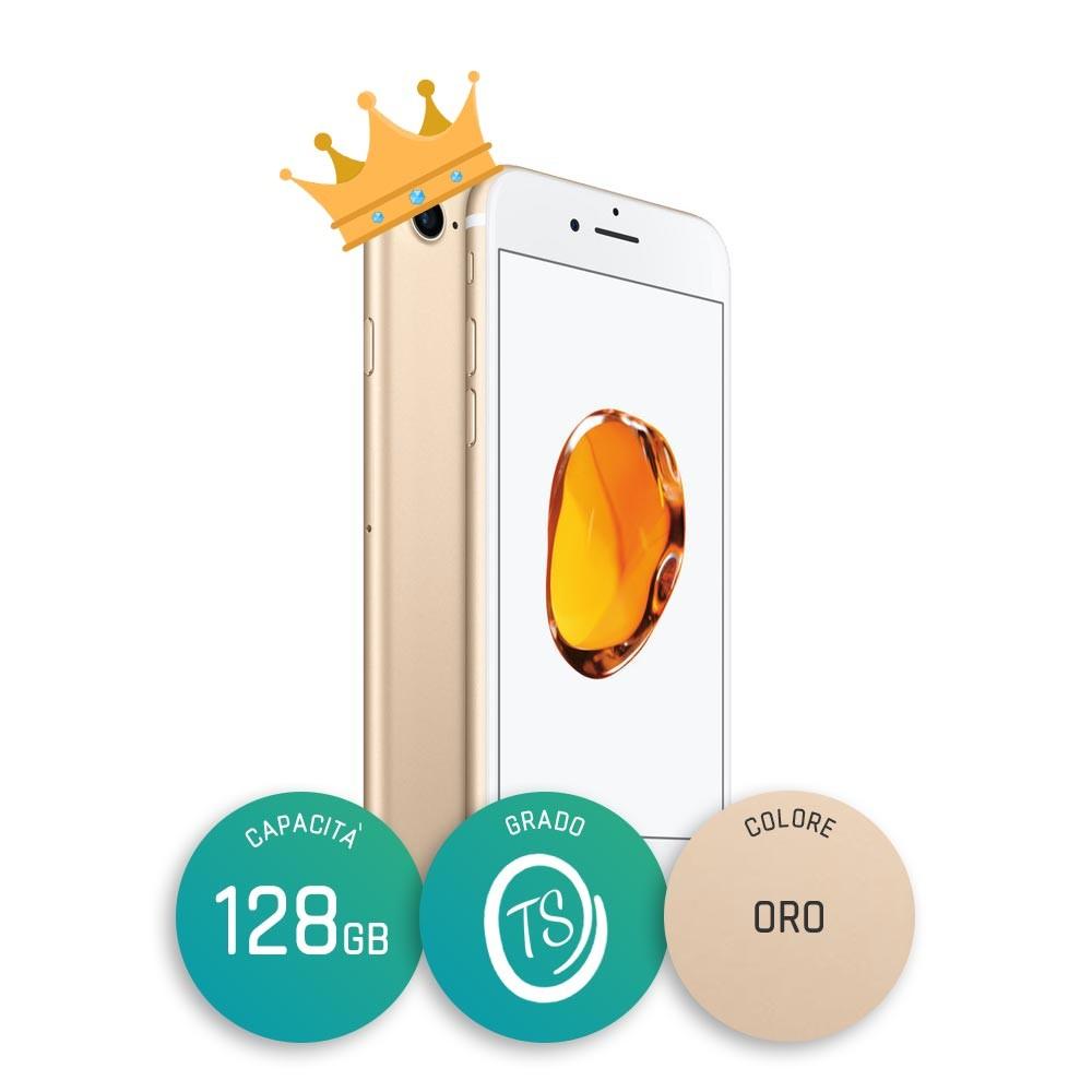 iPhone 7 Ricondizionato – 128GB – Grado TS – Oro