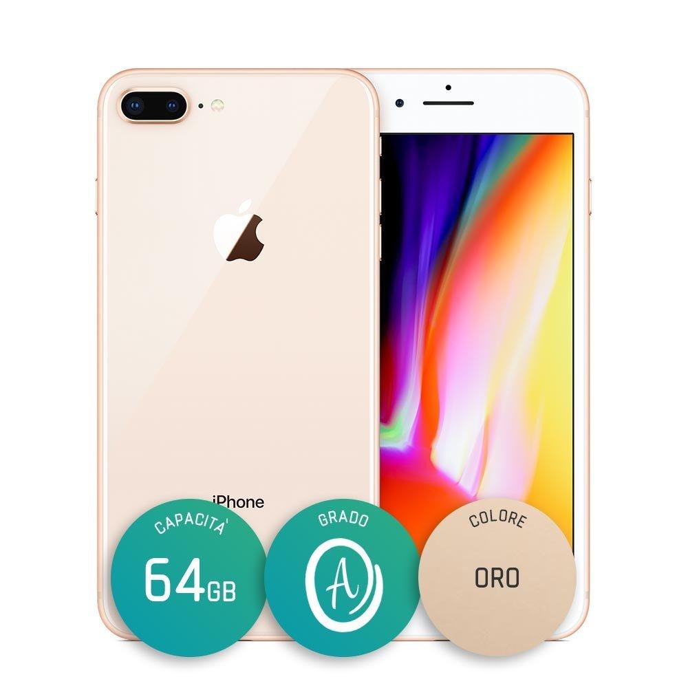 iPhone 8 Plus Ricondizionato – 64GB – Grado A – Oro