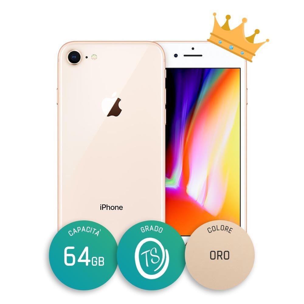 iPhone 8 Ricondizionato – 64GB – Grado TS – Oro