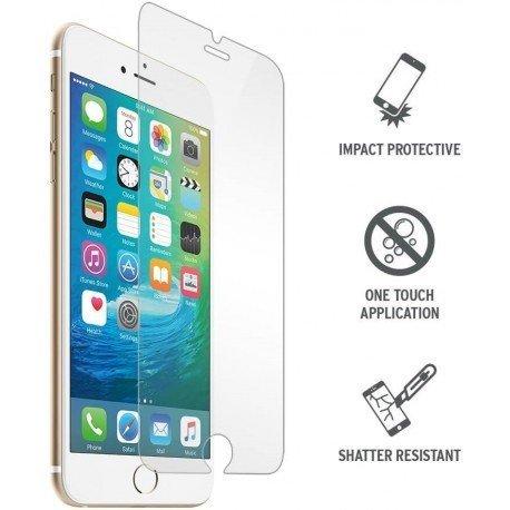 Pellicola Protezione in Vetro Temperato compatibile per iPhone 6+/6s+/7+/8+