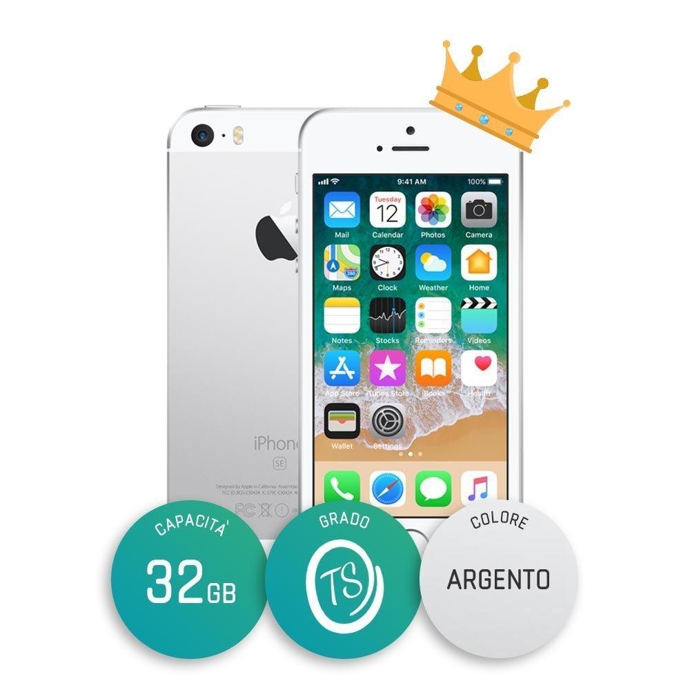 iPhone SE Ricondizionato – 32GB – Grado TS – Silver